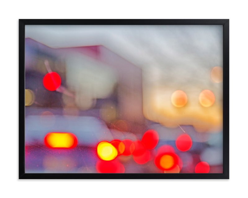 """traffic JAM."" - Art Print by Gail Schechter in beautiful frame options and a variety of sizes."