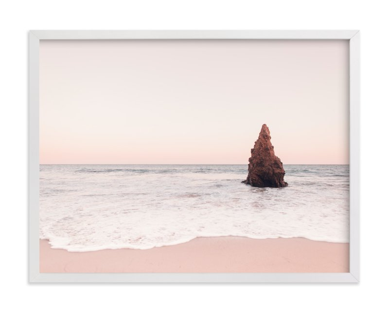 """Malibu View No.1"" - Art Print by Kamala Nahas in beautiful frame options and a variety of sizes."