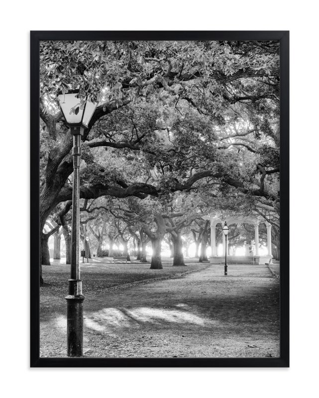 """Park Dreams"" - Art Print by Mark Kirby in beautiful frame options and a variety of sizes."