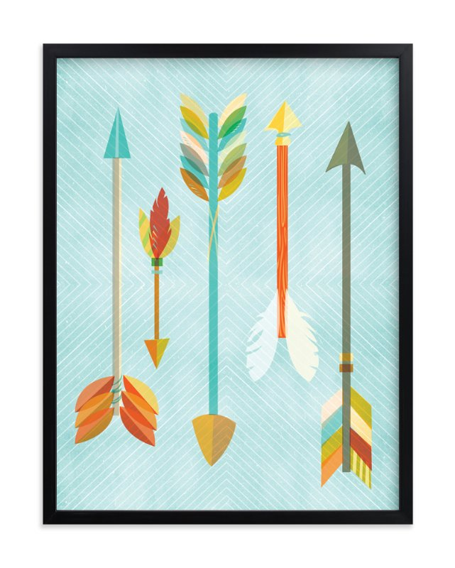 """Quiver"" - Art Print by Susie Allen in beautiful frame options and a variety of sizes."