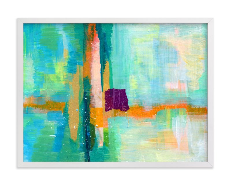 """Landscape Study III"" - Art Print by Laura Bolter Design in beautiful frame options and a variety of sizes."