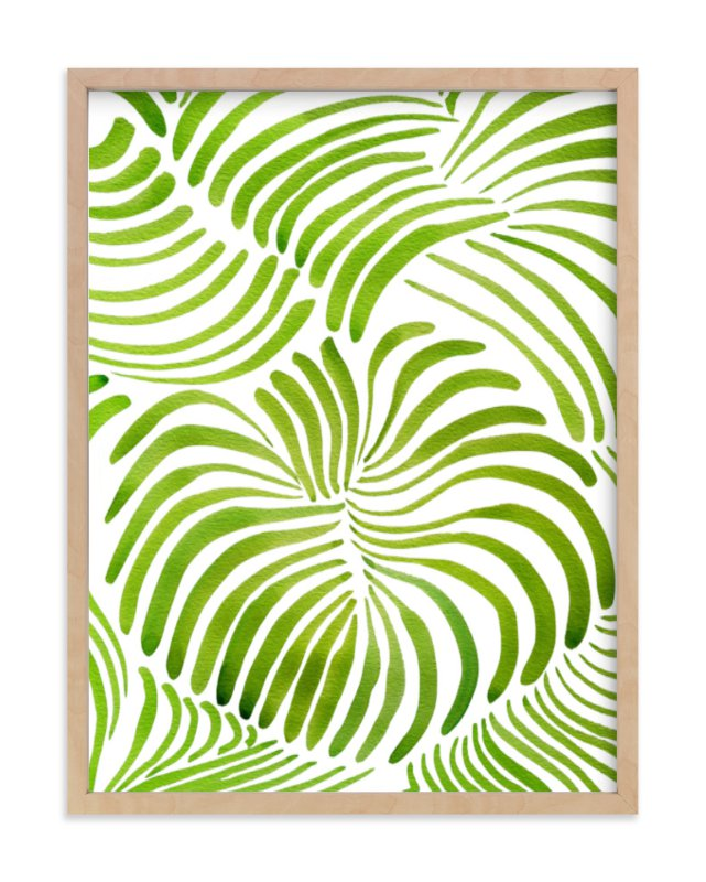 """Minted Forest"" - Limited Edition Art Print by Deborah Velasquez in beautiful frame options and a variety of sizes."