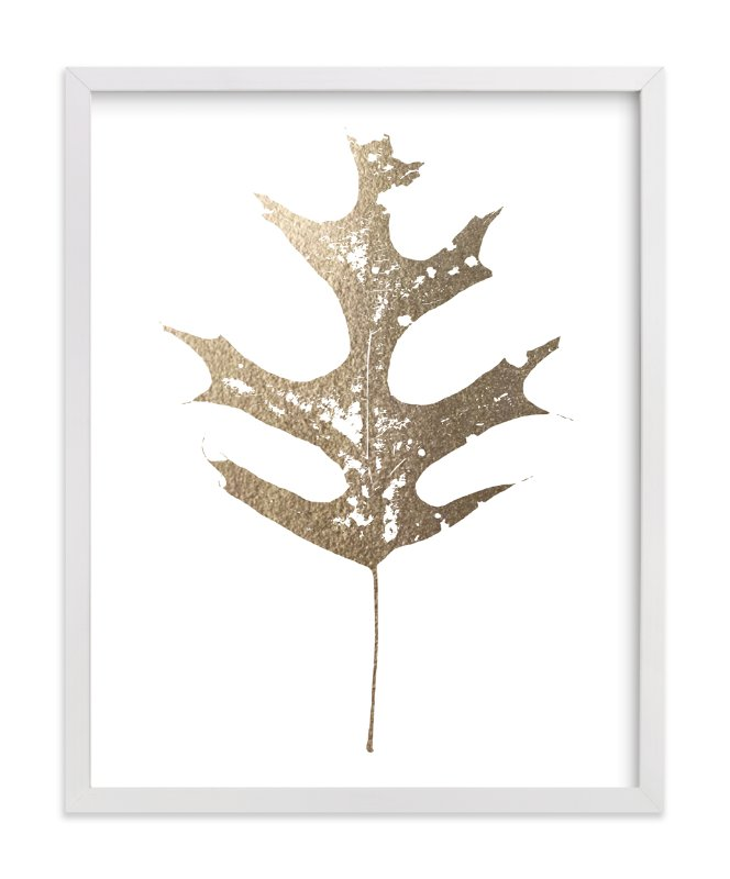 """""""King of the Forest"""" - Foil-pressed Art Print by Glenn Carroll in beautiful frame options and a variety of sizes."""