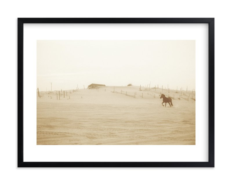 """Wild and Free"" - Art Print by Robin Ott in beautiful frame options and a variety of sizes."