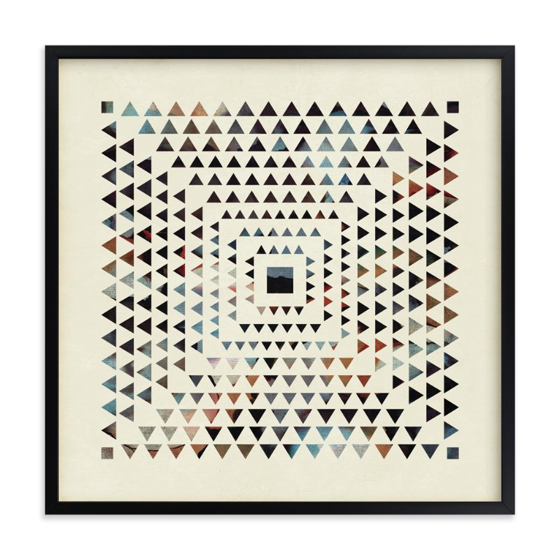 """Angled Rays"" - Art Print by Jennifer Morehead in beautiful frame options and a variety of sizes."