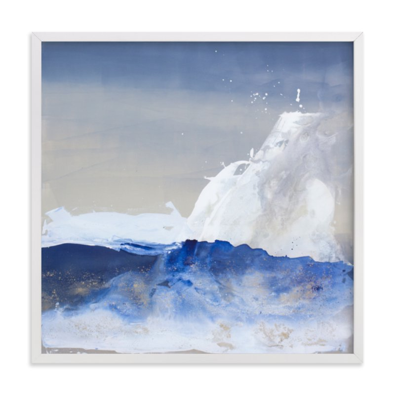 """""""Neptune"""" - Limited Edition Art Print by Julia Contacessi in beautiful frame options and a variety of sizes."""