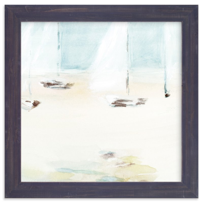"""Ahoy"" - Art Print by Mande in beautiful frame options and a variety of sizes."