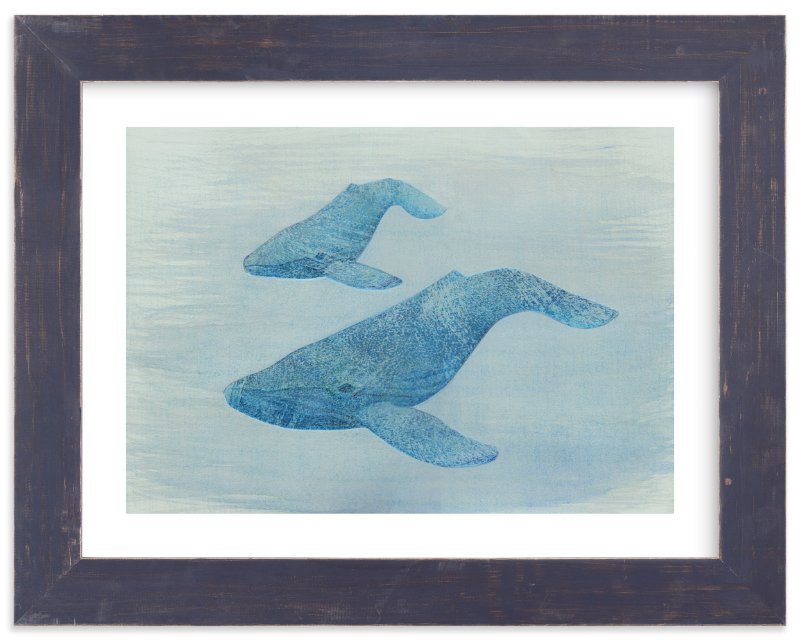 """Exploration"" - Limited Edition Art Print by Amelie Conger in beautiful frame options and a variety of sizes."