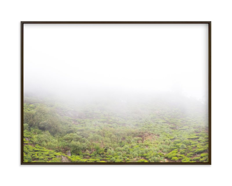"""Tea in the Fog"" - Art Print by jessi gilbert in beautiful frame options and a variety of sizes."