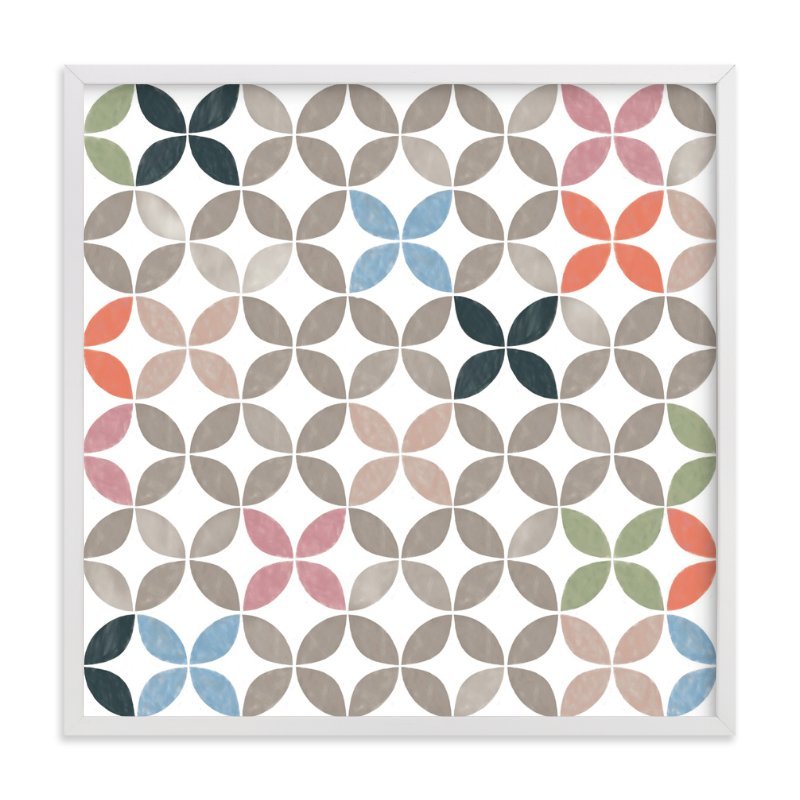 """""""Tiles No 6"""" - Art Print by Kevin Robinson in beautiful frame options and a variety of sizes."""