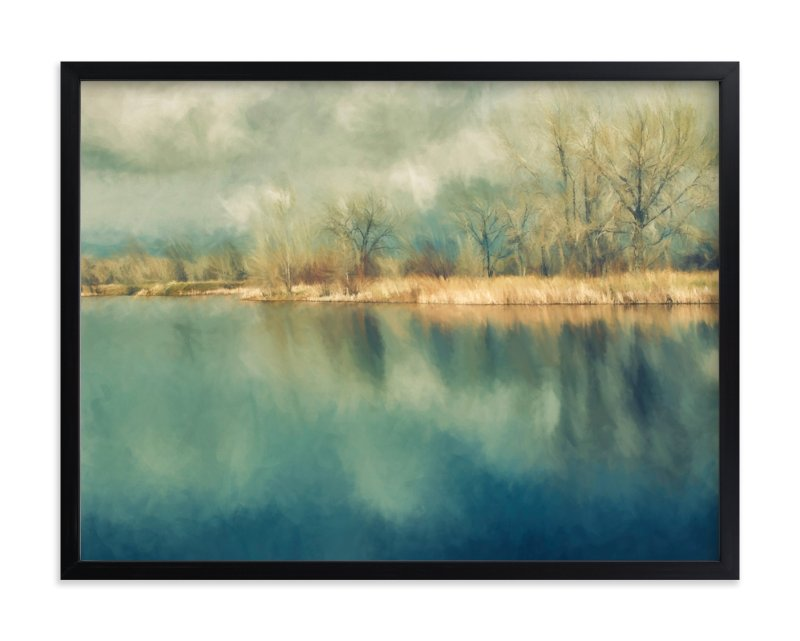 """""""Early Spring Light"""" - Art Print by Gabrial Reising in beautiful frame options and a variety of sizes."""