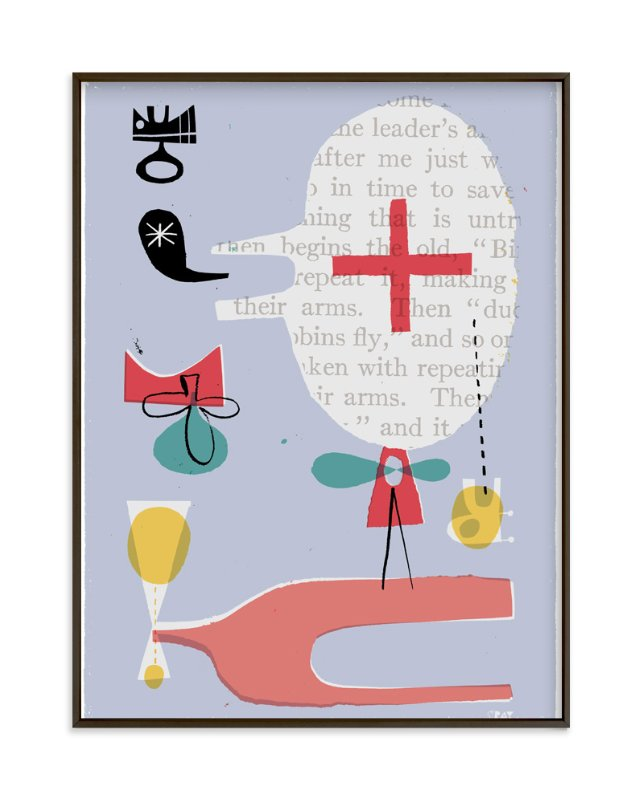 """""""Fun Games That Make You Laugh"""" - Art Print by ERAY in beautiful frame options and a variety of sizes."""