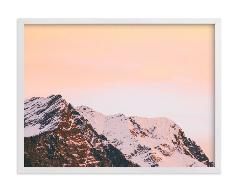 """""""Ombre Sky No.2"""" - Art Print by lulu and isabelle in beautiful frame options and a variety of sizes."""