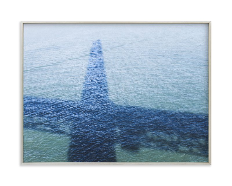 """""""Golden Gate Shadow"""" - Art Print by Annie Montgomery in beautiful frame options and a variety of sizes."""