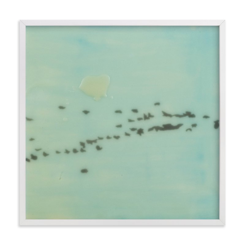 """""""Geese, Lake Ontario"""" - Art Print by Annie Seaton in beautiful frame options and a variety of sizes."""