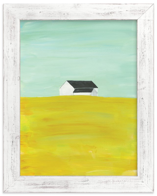 """""""rural midwest"""" - Art Print by Robin Ott in beautiful frame options and a variety of sizes."""