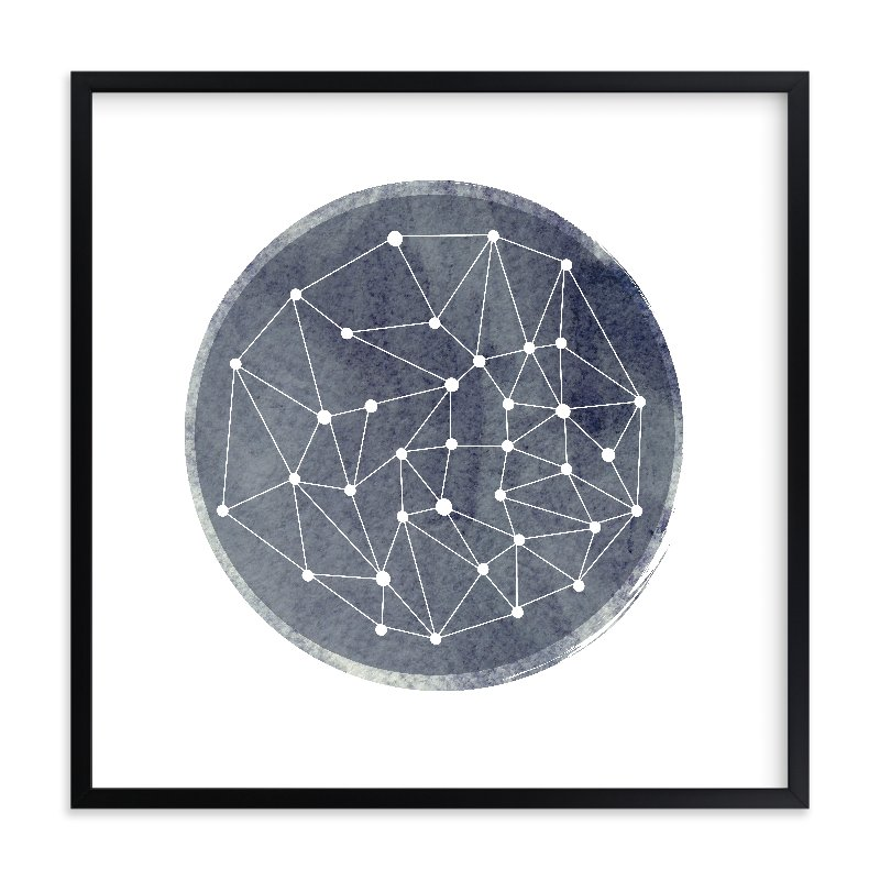 """Constellation"" - Limited Edition Art Print by annie clark in beautiful frame options and a variety of sizes."