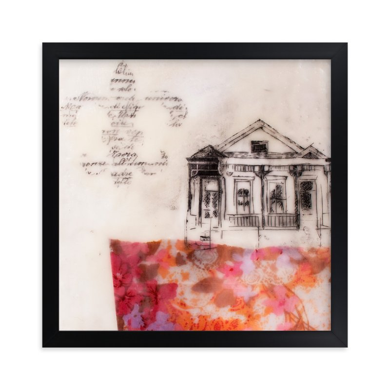 """A Study of Home I"" - Art Print by Two if by Sea Studios in beautiful frame options and a variety of sizes."