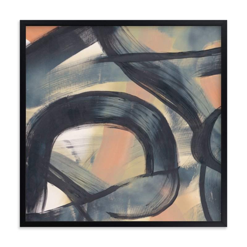 """Neutral Roads Series 1"" - Art Print by Angela Simeone in beautiful frame options and a variety of sizes."