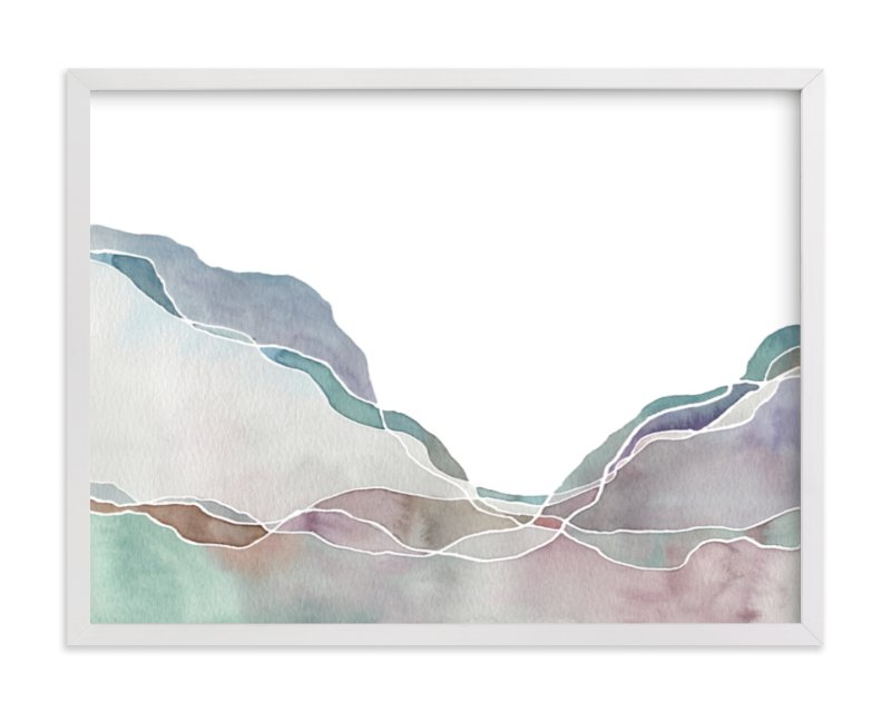 """Terrain No. 2"" - Art Print by Jennifer Daily in beautiful frame options and a variety of sizes."