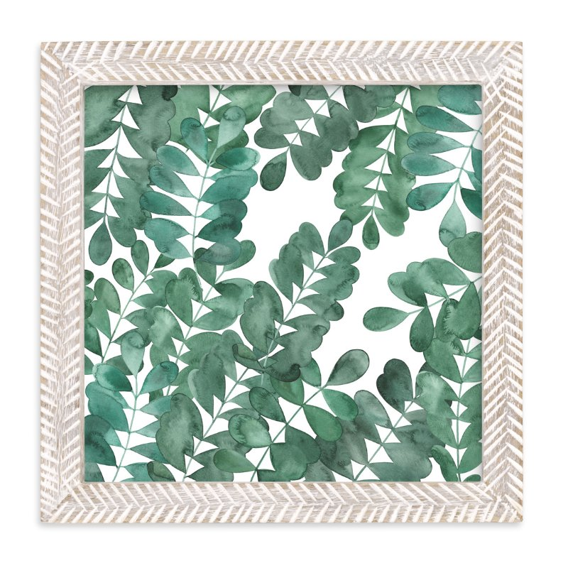 """Leafy Bowers"" - Limited Edition Art Print by Natalie Ryan in beautiful frame options and a variety of sizes."