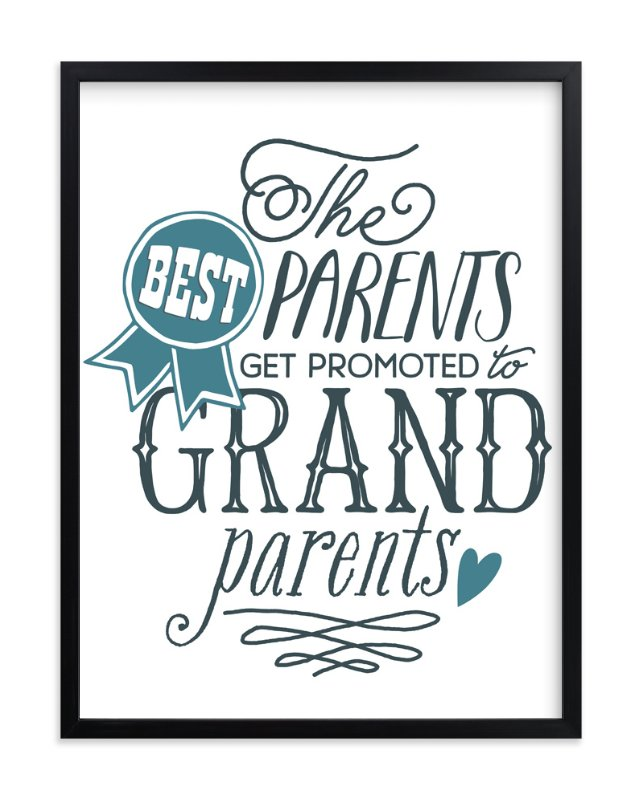 """""""Grand Parents."""" - Art Print by Jessie Steury in beautiful frame options and a variety of sizes."""