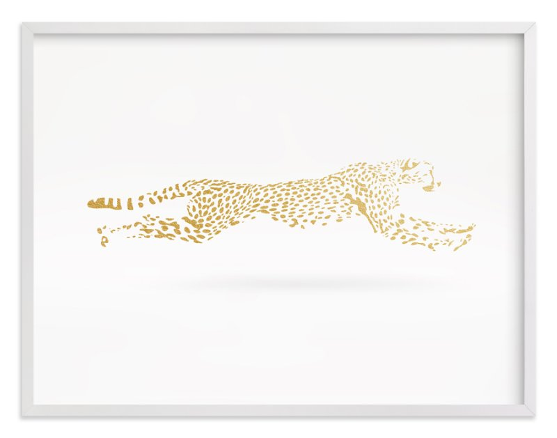 """""""Golden Gait"""" - Art Print by Andrew McClintock in beautiful frame options and a variety of sizes."""