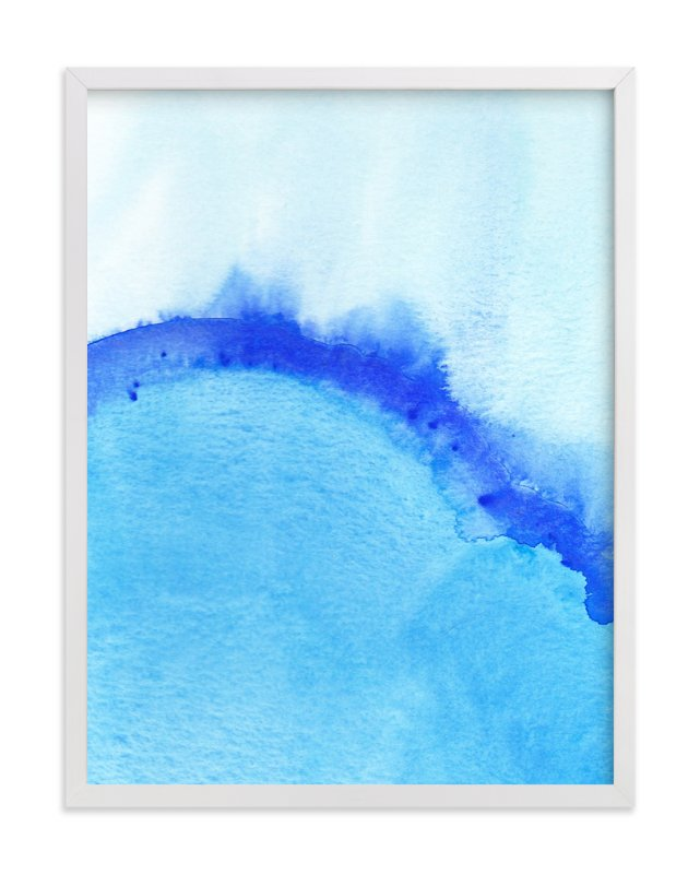 """""""Waves From Above"""" - Art Print by Chelsey Scott in beautiful frame options and a variety of sizes."""