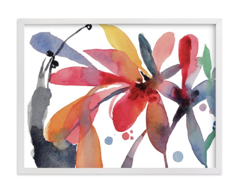 """""""Medley"""" - Limited Edition Art Print by Claudia Bianchi in beautiful frame options and a variety of sizes."""