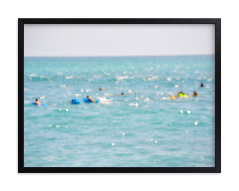 """Floating in Baja"" - Art Print by Gaucho Works in beautiful frame options and a variety of sizes."