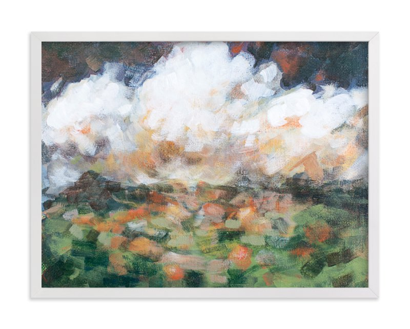 """""""After The Storm"""" - Art Print by Lorent and Leif in beautiful frame options and a variety of sizes."""