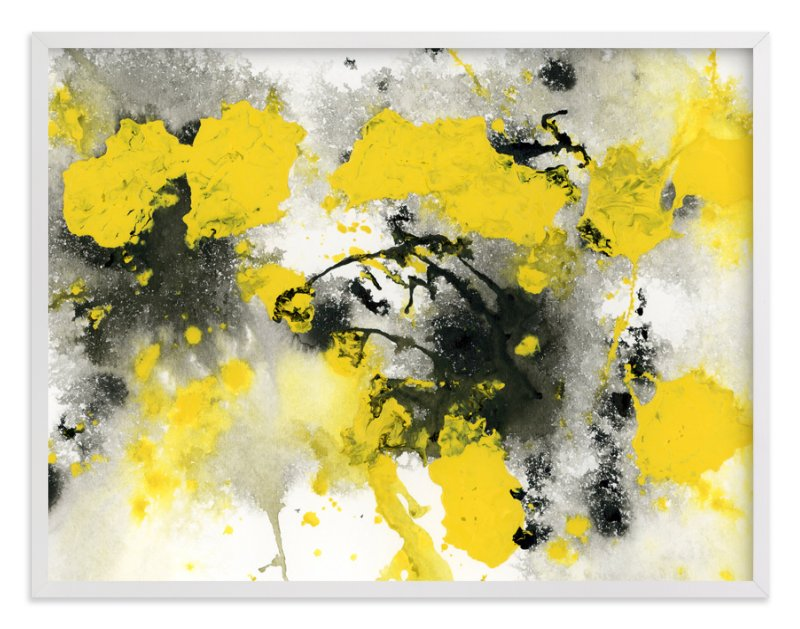 """Outburst"" - Art Print by Michelle Waldie in beautiful frame options and a variety of sizes."