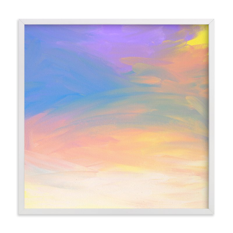 """Sunrise over Ontario"" - Art Print by Kim Johnson in beautiful frame options and a variety of sizes."