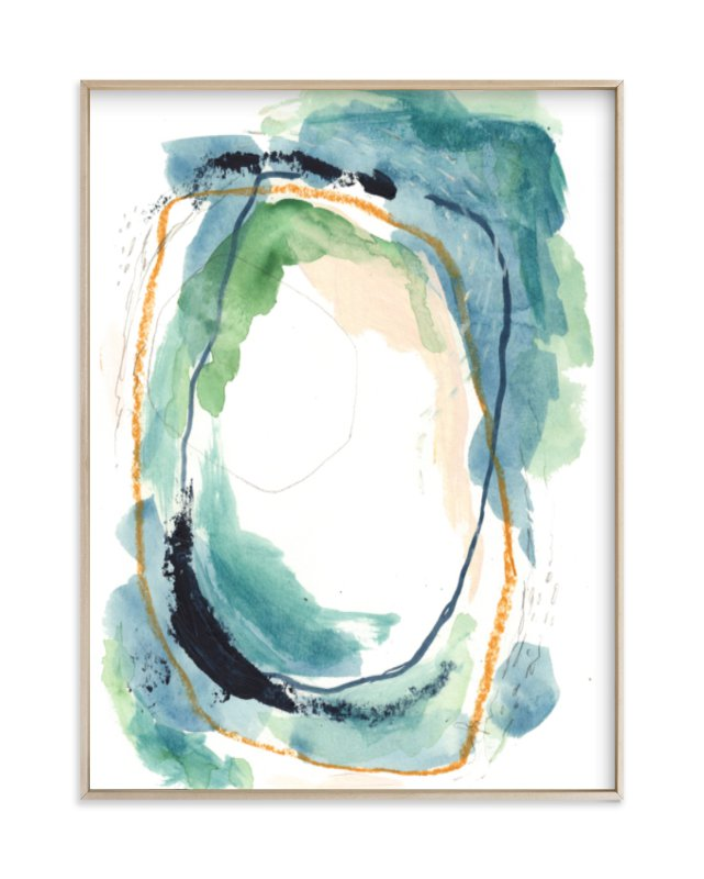 """below"" - Limited Edition Art Print by Kayla King in beautiful frame options and a variety of sizes."