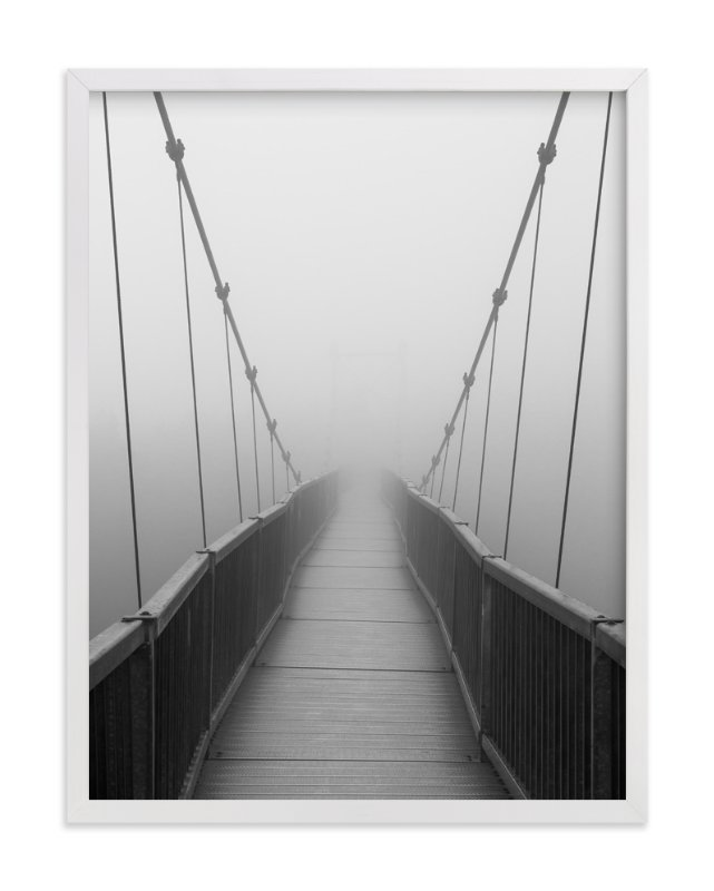 """Mile High Bridge"" - Art Print by Julie Blackwood in beautiful frame options and a variety of sizes."