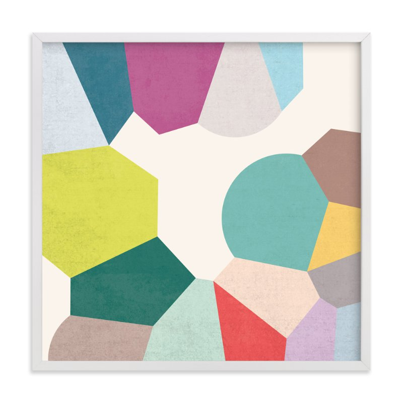 """""""Pointilize III"""" - Art Print by Amber Barkley in beautiful frame options and a variety of sizes."""