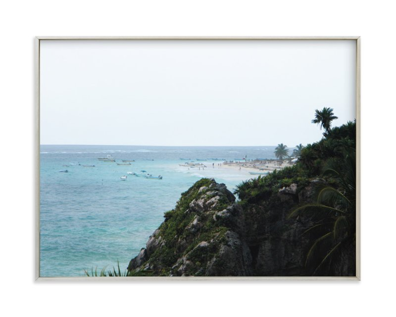 """The Coast"" - Art Print by Kelsey McNatt in beautiful frame options and a variety of sizes."