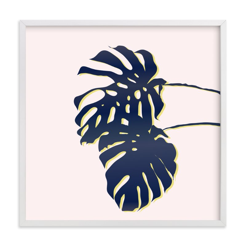 """Palm Study #3"" - Art Print by Cindy Lackey in beautiful frame options and a variety of sizes."