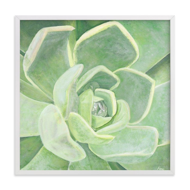 """Garden Velvet"" - Art Print by Heather M. Roberts in beautiful frame options and a variety of sizes."