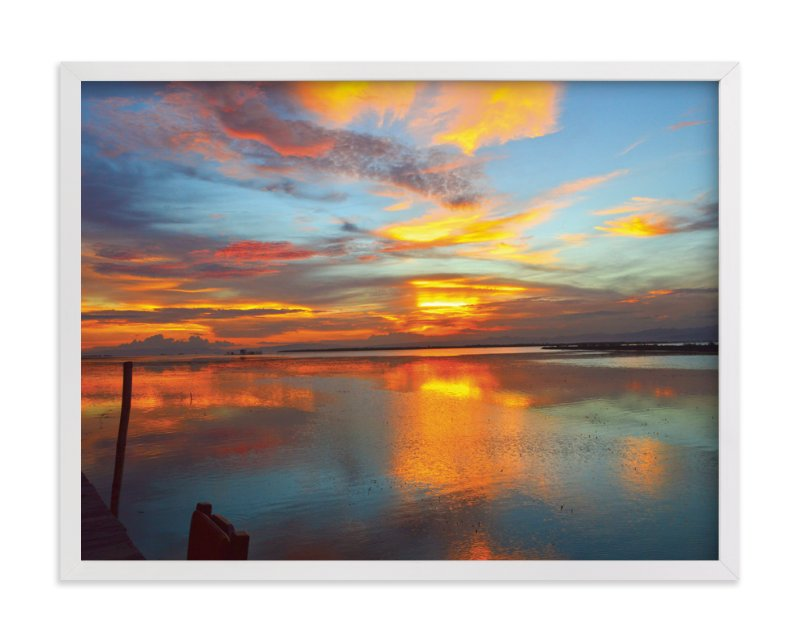 """""""sky"""" - Art Print by aticnomar in beautiful frame options and a variety of sizes."""