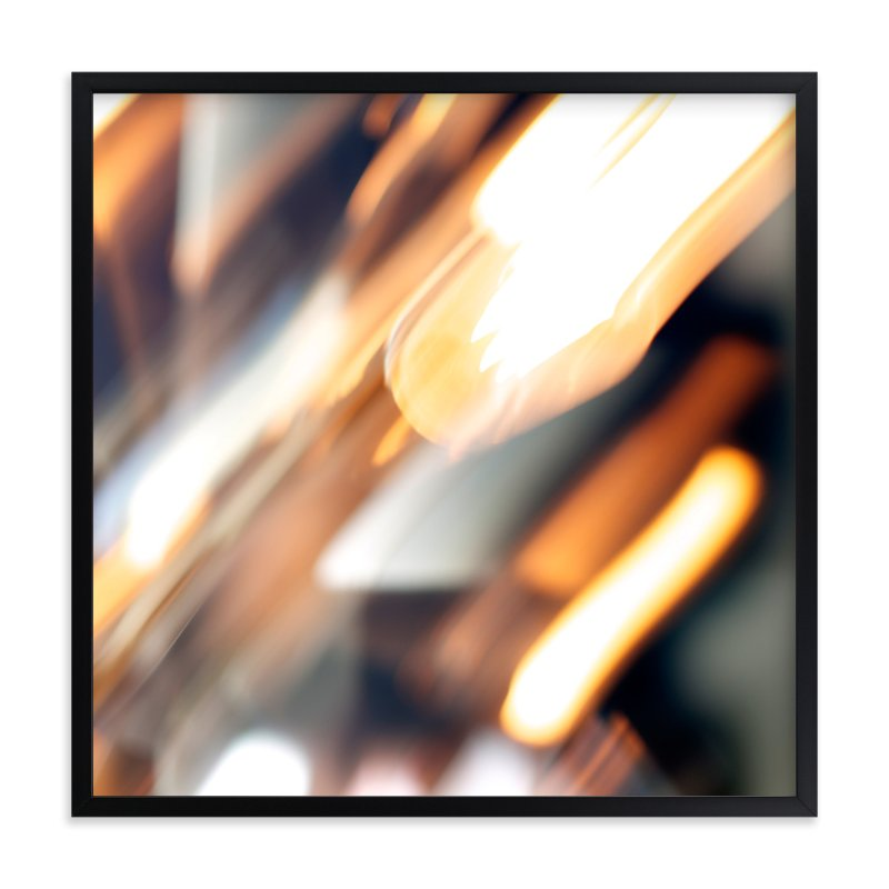 """Spinning Lights No.1"" - Art Print by Jennifer Daily in beautiful frame options and a variety of sizes."