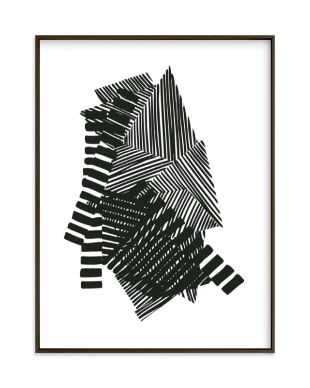 """Layers"" - Art Print by Jaime Derringer in beautiful frame options and a variety of sizes."