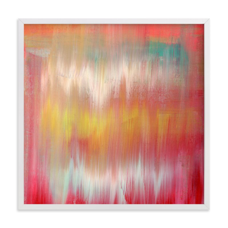 """""""Colorfall"""" - Art Print by Lindsay Megahed in beautiful frame options and a variety of sizes."""