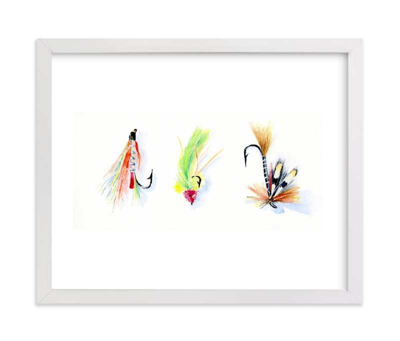 """On the Fly 2"" - Art Print by Stacey Brod in beautiful frame options and a variety of sizes."