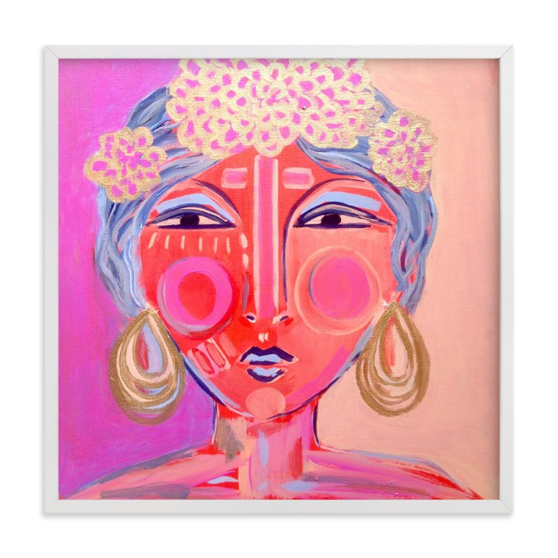 """Idalia"" - Limited Edition Art Print by Juniper Briggs in beautiful frame options and a variety of sizes."