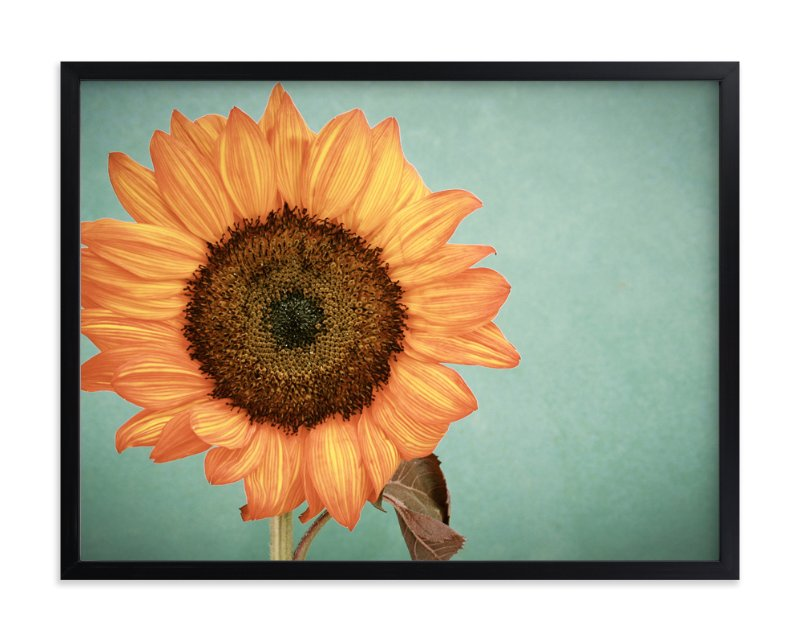 """Sunflower Power"" - Art Print by Debra Butler in beautiful frame options and a variety of sizes."