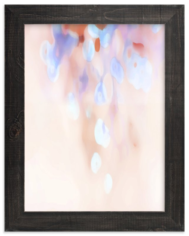 """Cascade"" - Art Print by Grace Kreinbrink in beautiful frame options and a variety of sizes."