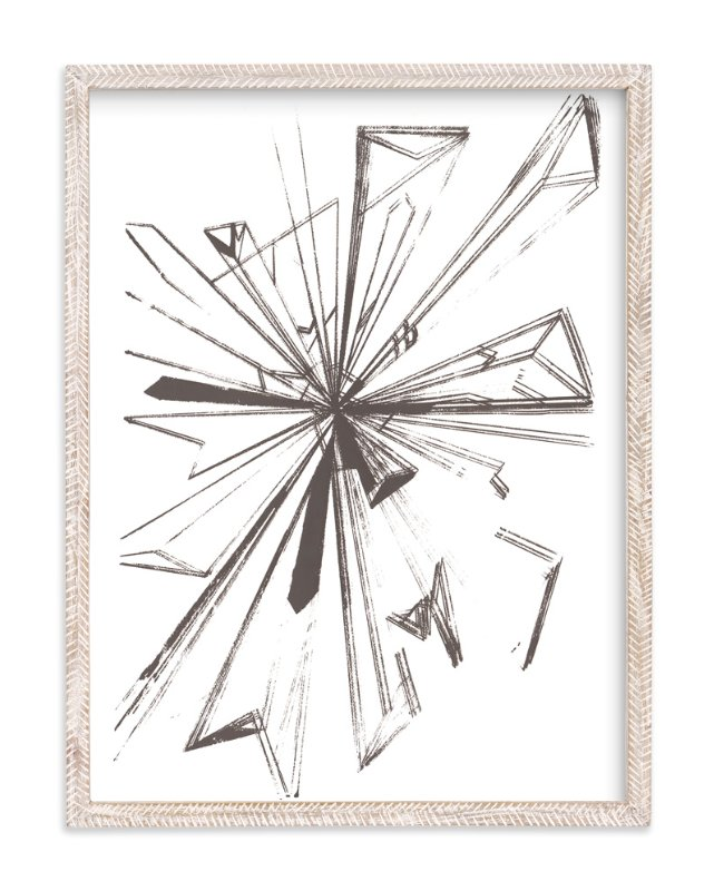 """Starburst Series 2"" - Art Print by Angela Simeone in beautiful frame options and a variety of sizes."