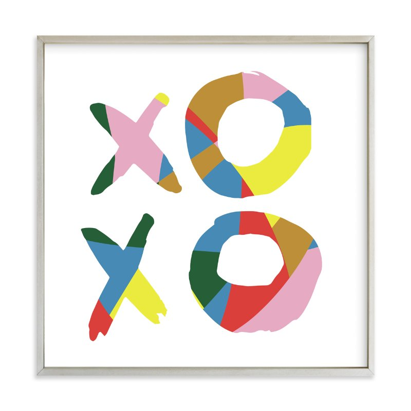 Xoxo Be Bright Wall Art Prints By Christina Flowers Minted