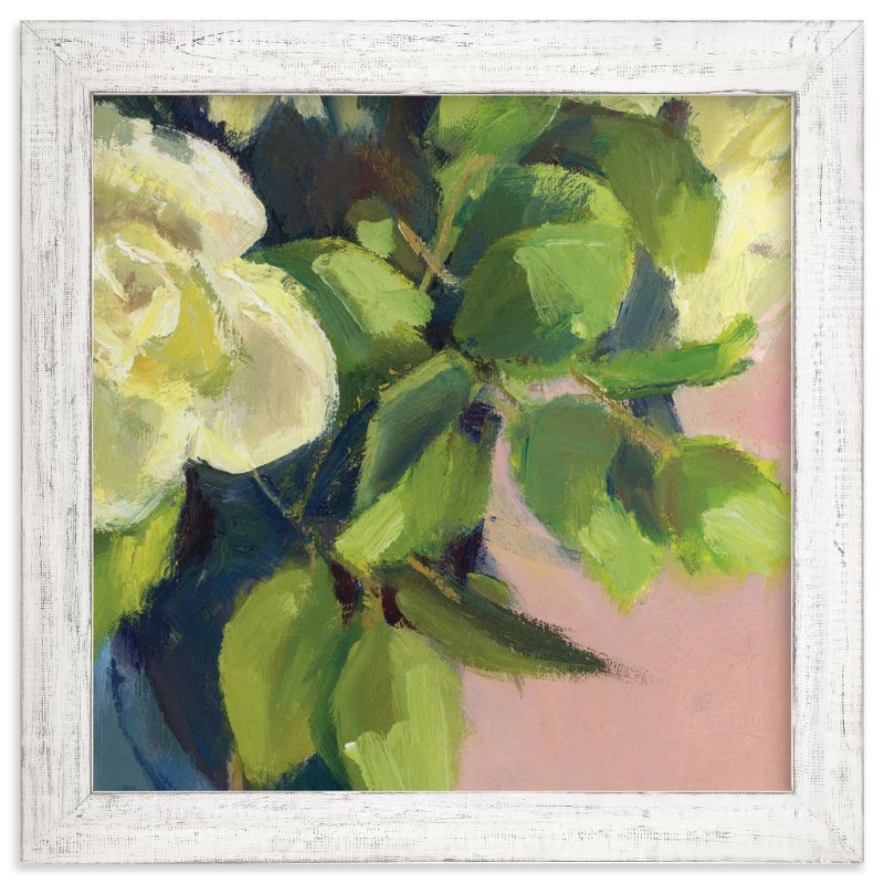 """Bouquet 1"" - Art Print by sue prue in beautiful frame options and a variety of sizes."